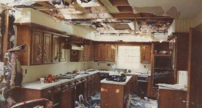 Fire Restoration - Before